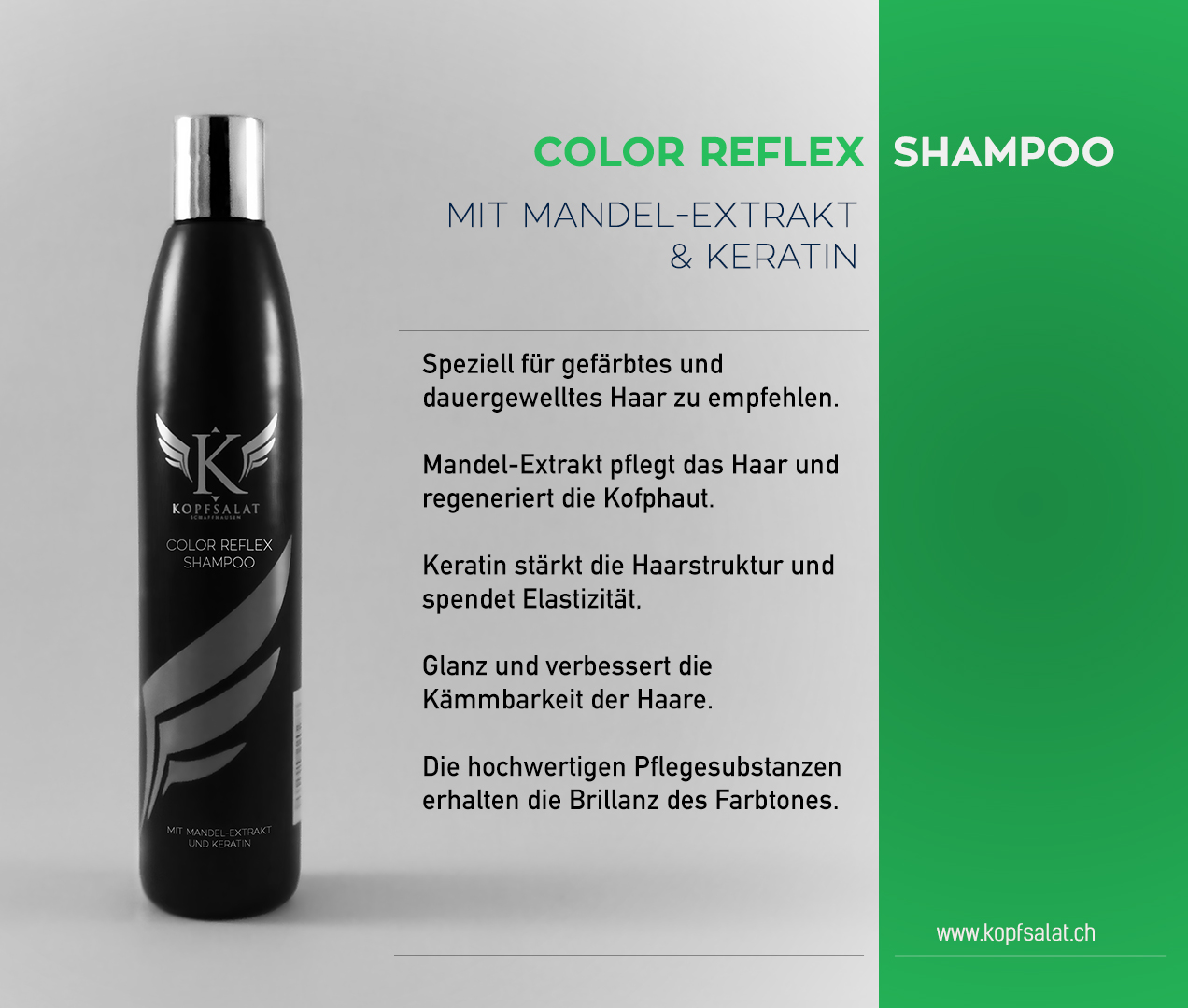 1 color reflex shampoo