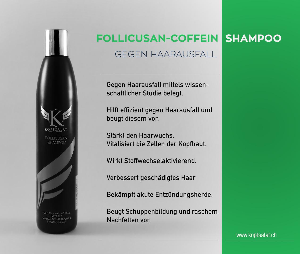 1 folikusan coffein shampoo