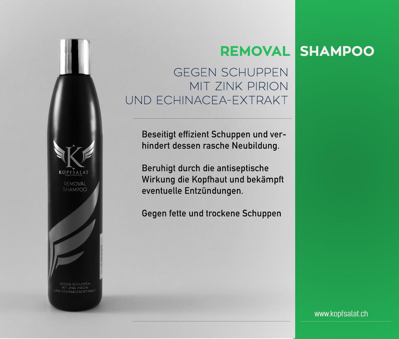 1 removal shampoo