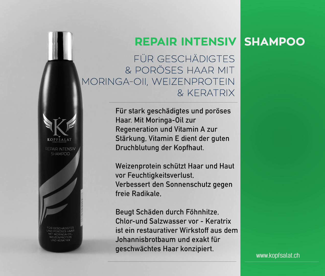 1 repair intensiv shampoo