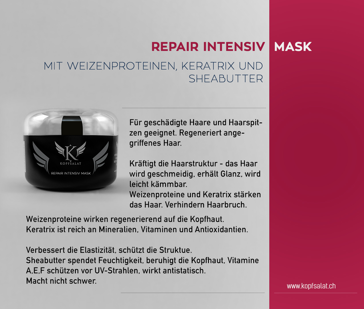 2 repair intensiv mask