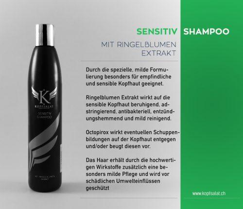 1 sensitiv shampoo