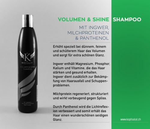 1 volumen and shine shampoo